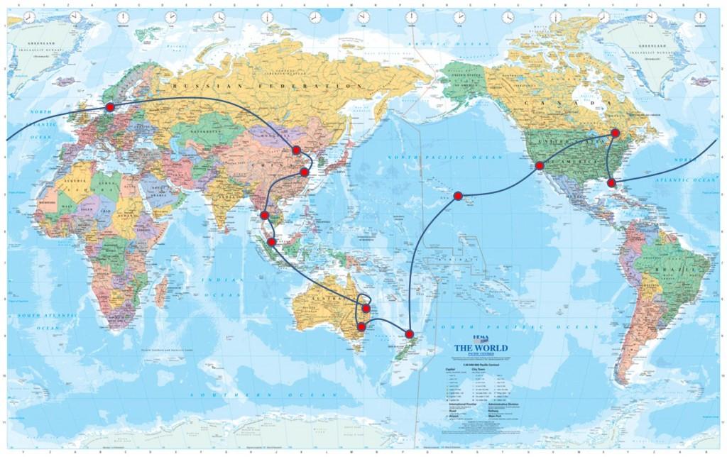 Karta Hela Jorden Karta 2020